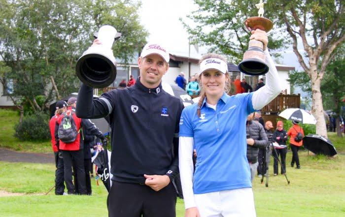 Birgir Leifur og Ólafía Þórunn Íslandsmeistarar í golfi 2016