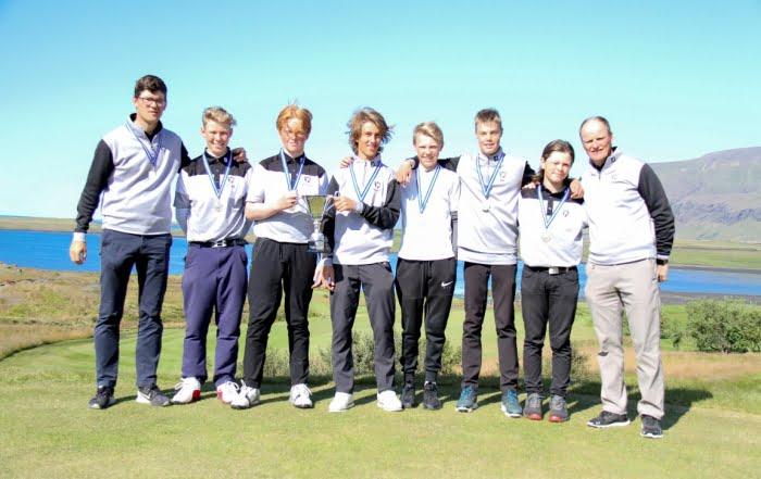 GKG Íslandsmeistari golfklúbba 15 ára og yngri