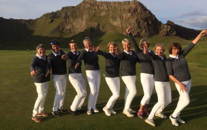 GKG sveit eldri kvenna hafnaði í öðru sæti á Íslandsmóti golfklúbba