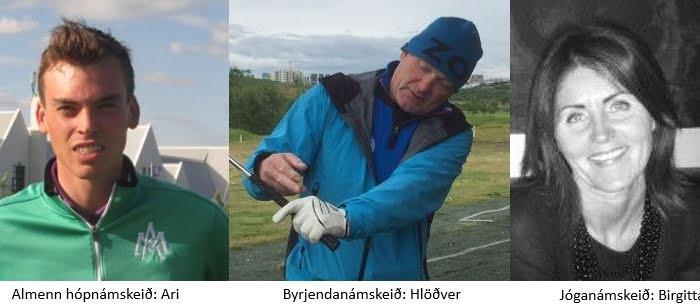 Golf- og jóganámskeið hefjast í janúar – skráning hafin