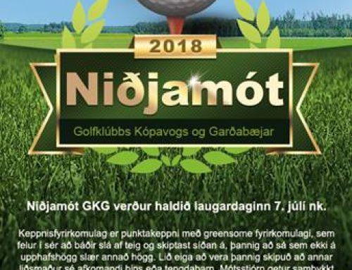 Niðjamót GKG 2018
